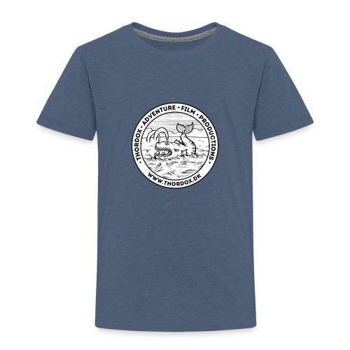 Thordox Logo White Whale - Børne premium T-shirt