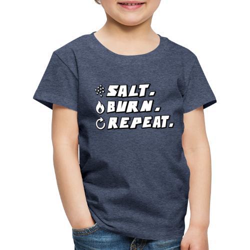 Salt Burn Repeat Supernatural Comic T-Shirt - Kinder Premium T-Shirt