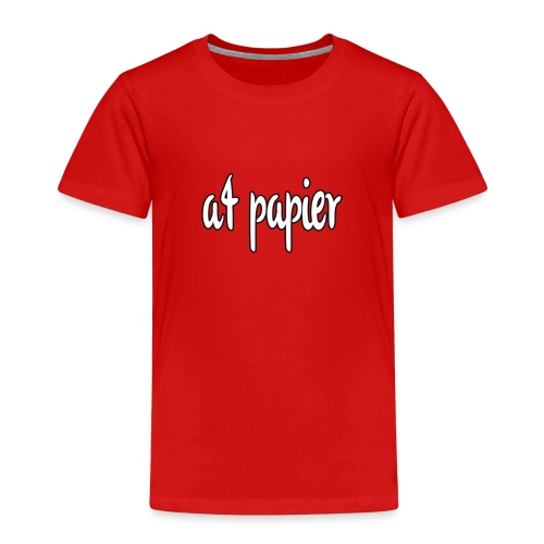A4Papier - Kinderen Premium T-shirt