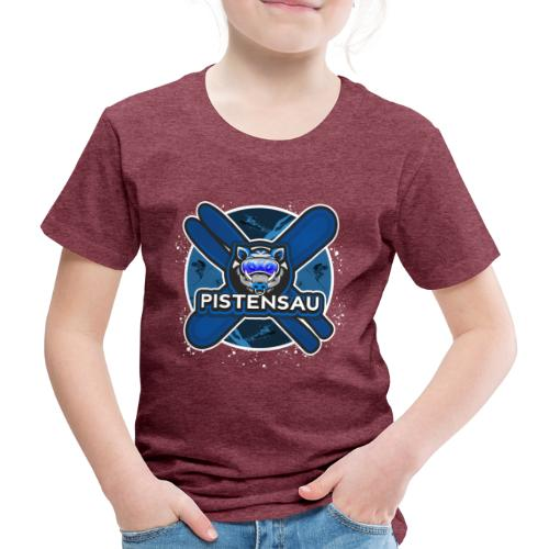 PistenSau NachtSki - Kinder Premium T-Shirt