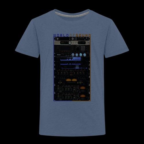 World Of Sound - Kids' Premium T-Shirt