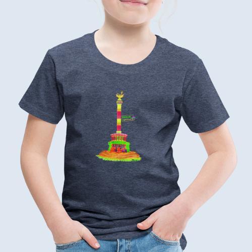 Siegessäule Berlin PopArt ickeshop BachBilder - Kinder Premium T-Shirt