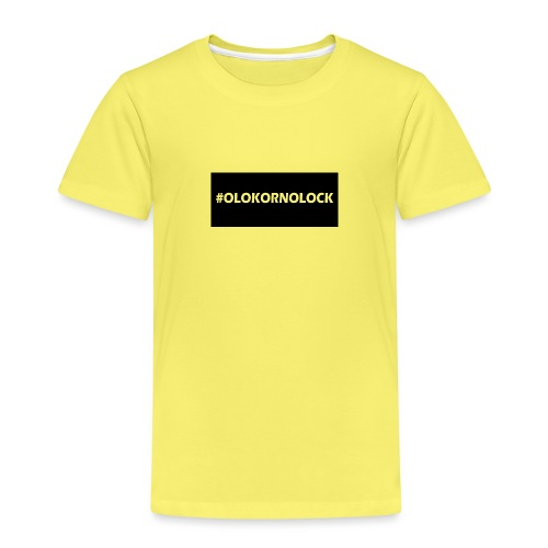 #OLOKORNOLOCK - Premium-T-shirt barn