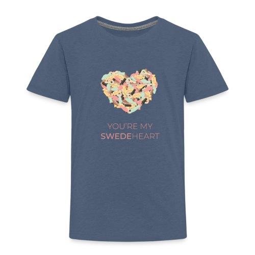 SWEDEheart - Premium-T-shirt barn