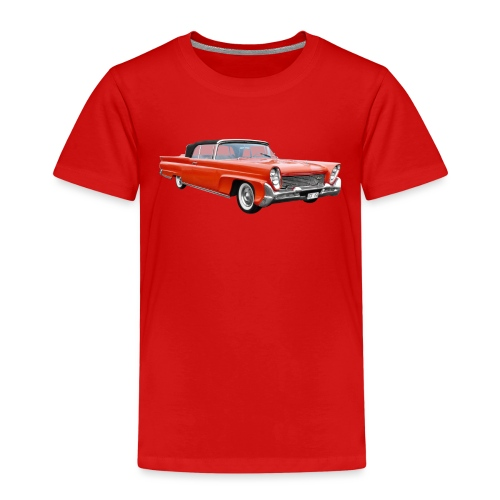 Red Classic Car - Kinderen Premium T-shirt