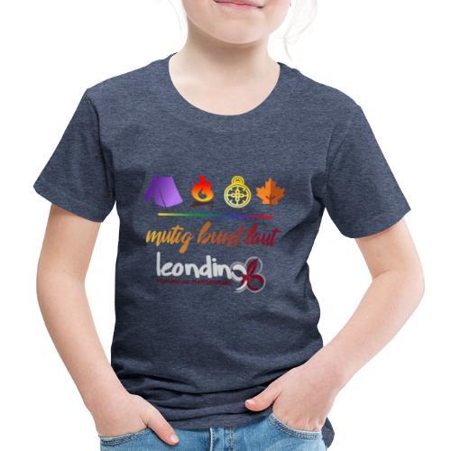 mutig laut bunt15 - Kinder Premium T-Shirt