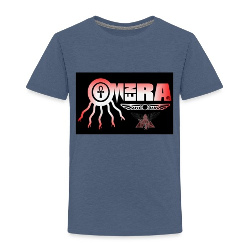 OMEN RA RED AND BLACK LOGO - Kids' Premium T-Shirt