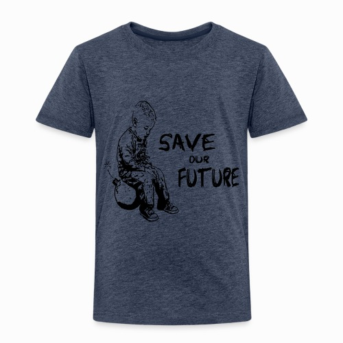 SAVE OUR FUTURE - Kinder Premium T-Shirt