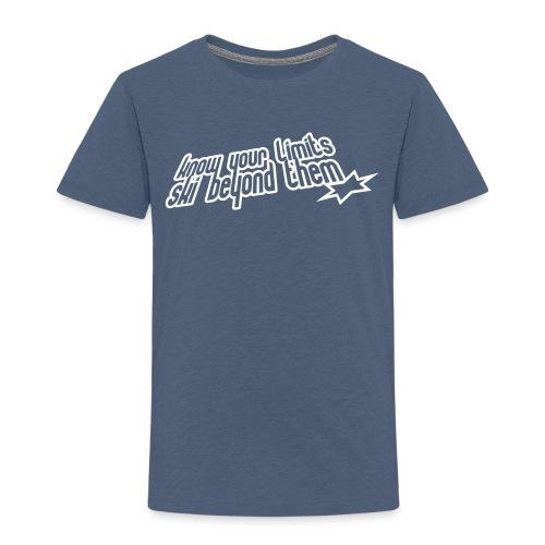 knowyourlimits - Maglietta Premium per bambini