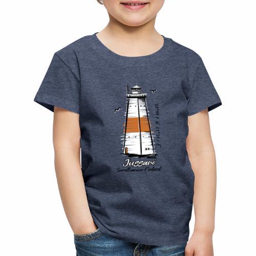 JUSSARÖ MAJAKKATUOTTEET, T-paidat, hupparit ym. - Lasten premium t-paita