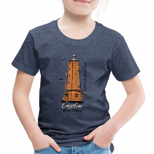 LÅGSKÄR AHVENANMAA -T-Paidat, majakkatuotteet - Lasten premium t-paita