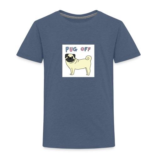 original pug shirt - Kids' Premium T-Shirt