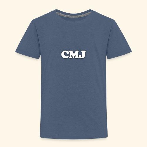 CMJ white merch - Kids' Premium T-Shirt