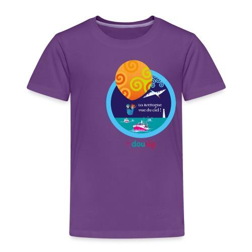 DOUSIG balade en ballon en Bretagne - T-shirt Premium Enfant