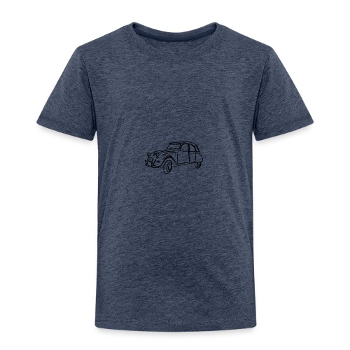 2 cv contour noir - T-shirt Premium Enfant