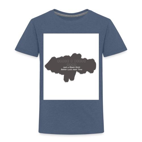 Just a blank shirt - Kids' Premium T-Shirt