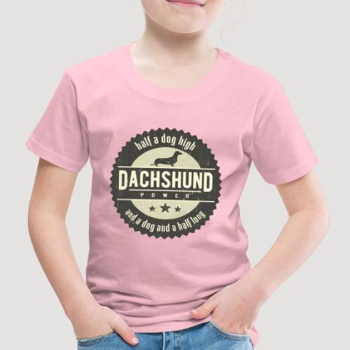 Dachshund Power - Kinderen Premium T-shirt