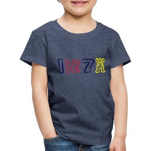 ILOVE7Buergen - Kinder Premium T-Shirt
