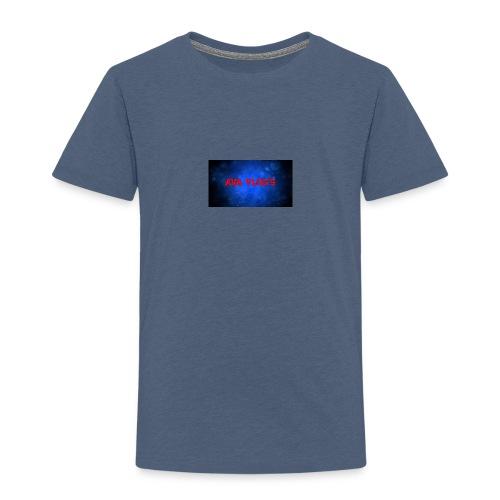 Ava Vlogz design - Kids' Premium T-Shirt