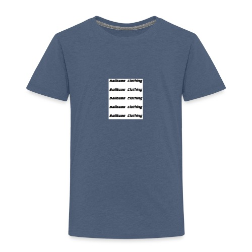 BallGame Clothing Rows - Kids' Premium T-Shirt