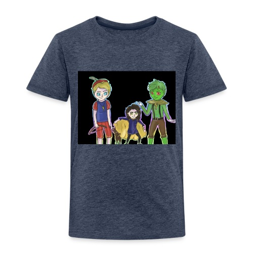 Familie RanngusBearFich - Kinder Premium T-Shirt