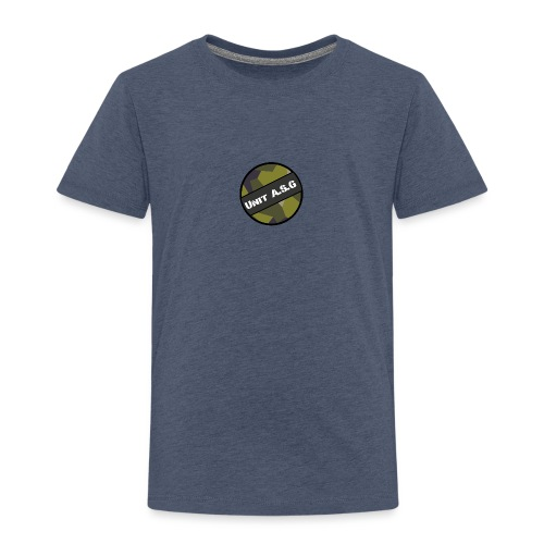 UnitASG badge - Premium-T-shirt barn
