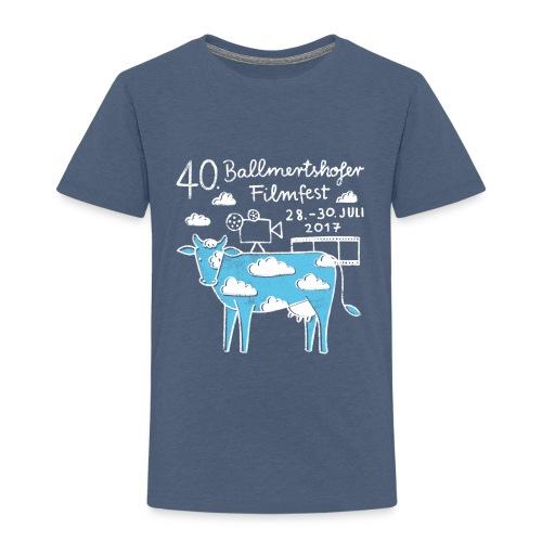 170415 B Filmfest Kuh weisse Schrift png - Kinder Premium T-Shirt