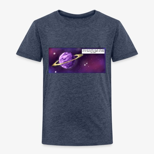 Comic Intro - Kids' Premium T-Shirt