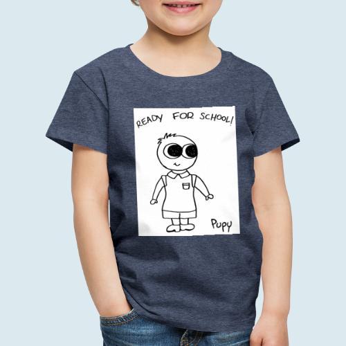 Pupy: ready for school! boy - Maglietta Premium per bambini