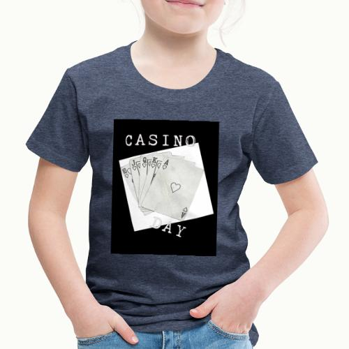 Casino Day Black & White - Kids' Premium T-Shirt