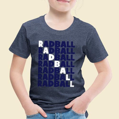Radball   Diagonal - Kinder Premium T-Shirt
