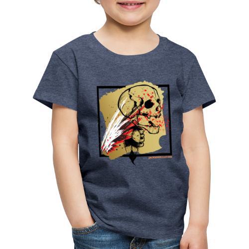 Indian Skull - Trash Polka - Totenkopf - Biker - Kinder Premium T-Shirt