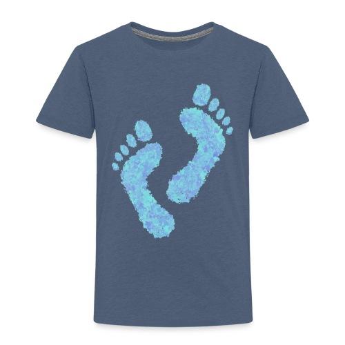 Barefoot on the Beach, Fun Summer Textiles, Gifts - Lasten premium t-paita