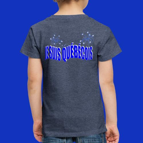 JE SUIS QUÉBÉCOIS 2 - T-shirt Premium Enfant