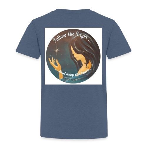 Follow the light, d'après le peinture Améthyste - T-shirt Premium Enfant