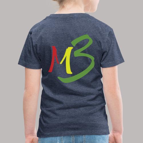 MB13 Logo rasta1 - Kids' Premium T-Shirt