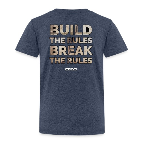 Rules Shirt - Kinder Premium T-Shirt