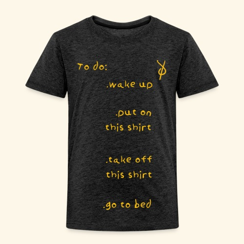 shieke to do-list - Kids' Premium T-Shirt