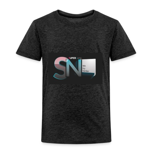 SUPERname We try Harder - Kids' Premium T-Shirt