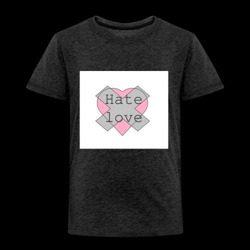Hate love - Camiseta premium niño