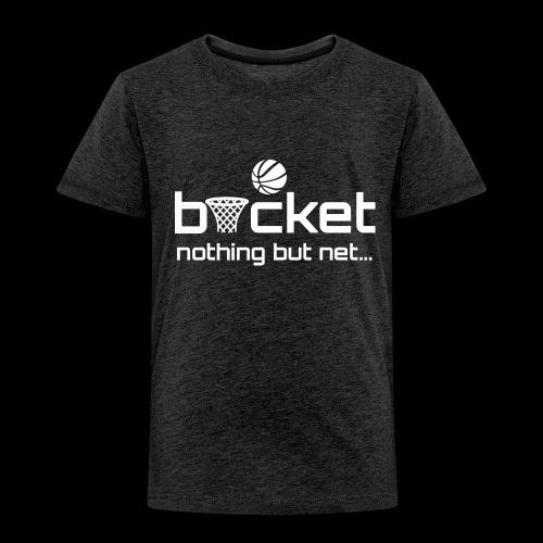 buck strap white.png - Kids' Premium T-Shirt