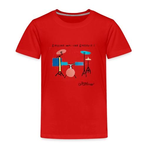 Azia Drum - Kids' Premium T-Shirt