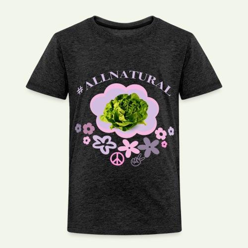 #AllNatural - Kinderen Premium T-shirt