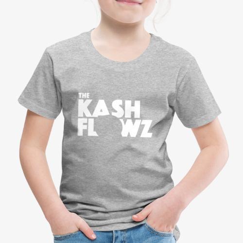 The Kash Flowz Official Logo White - T-shirt Premium Enfant