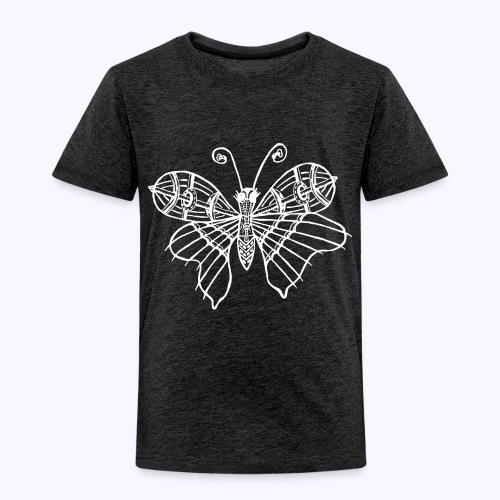 Schmetterling weiss - Kinder Premium T-Shirt