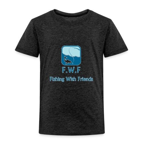 Fishing With Friends Logo - Kids' Premium T-Shirt