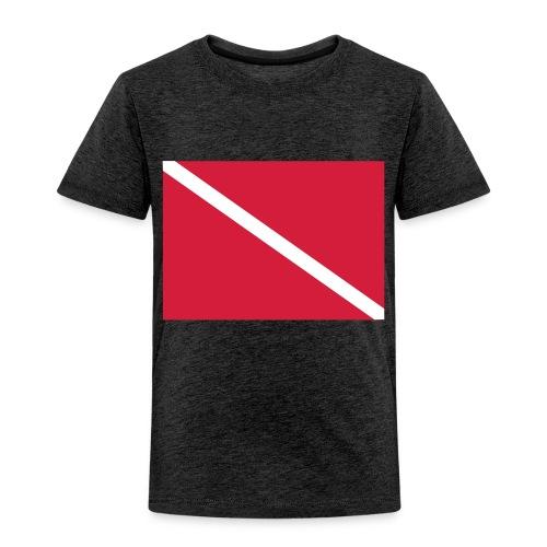 Diver Flag - Kids' Premium T-Shirt