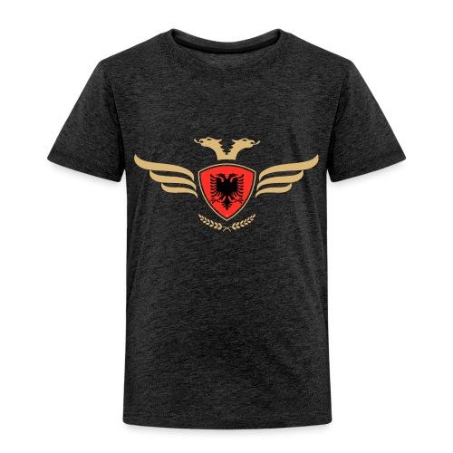 Albanien Flagge / Wappen Albaner Doppelkopfadler - Kinder Premium T-Shirt