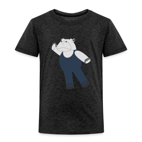 Hippo Ballet Dancer - Kids' Premium T-Shirt