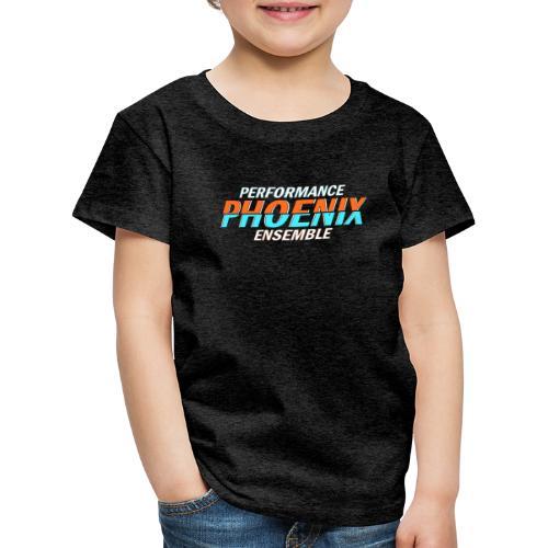 Phoenix Distorted Cyan - Kinder Premium T-Shirt